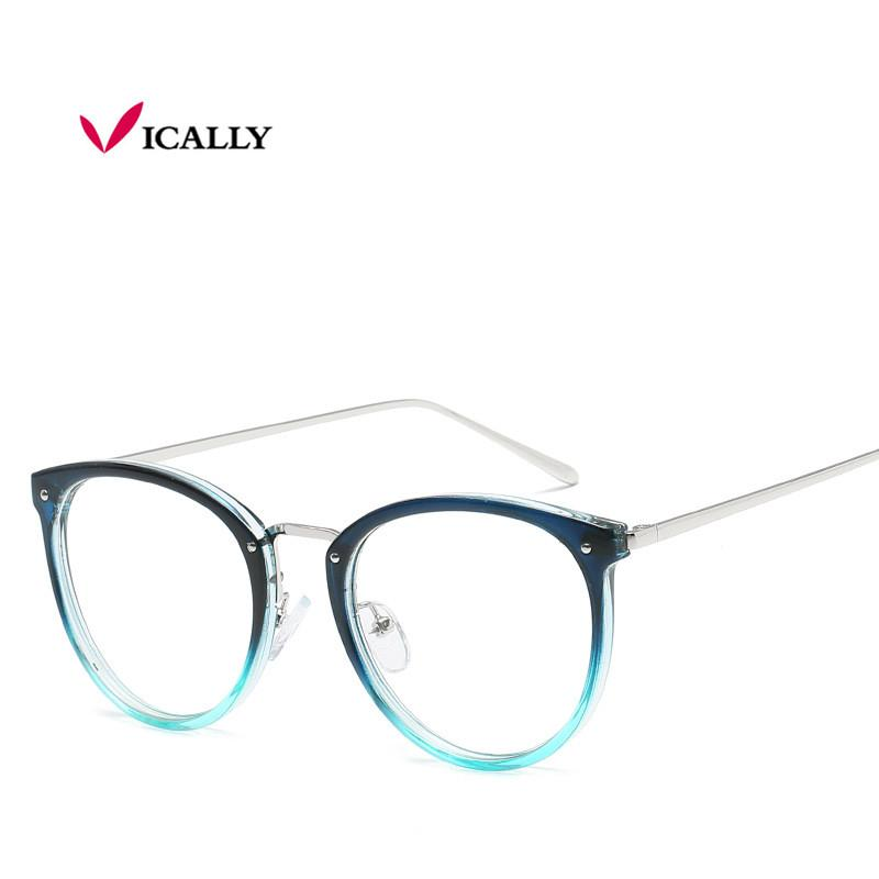 008b734d5ed Vintage Decoration Optical Eyeglasses Frame Myopia Round Metal Women  Spectacles Eye Glasses Oculos De Grau Eyewear Eyeglass Frame Myopia Optical  Eyeglasses ...