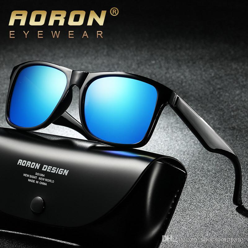 7a482b28c1ae Mens Brand Polarized Lens Sunglasses for Men Women Designer Sun ...