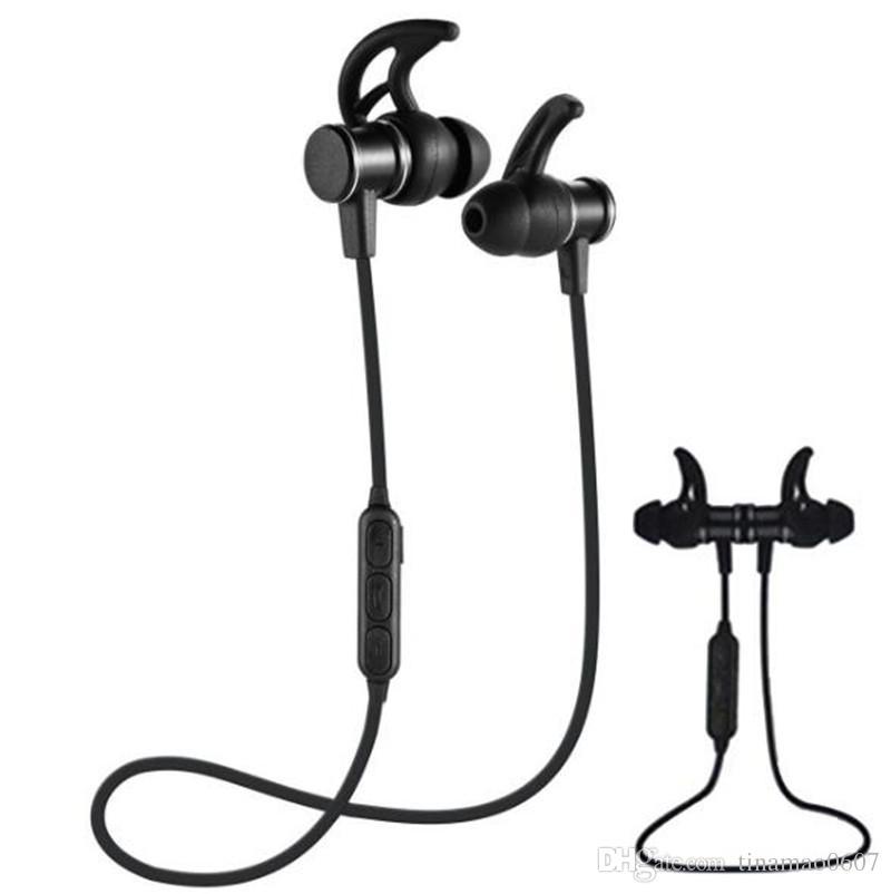 Auricolare Bluetooth Samsung Metallo Sport Bluetooth Cuffie Auricolari  Magnetici Auricolari Auricolari Stereo Wireless Magnete Con Microfono Il  Telefono ... 5c4e78cc58ea