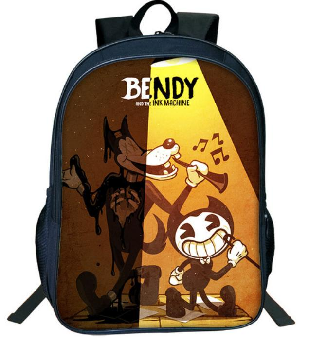 e5405e253bab Hot Cartoon Bendy And The Ink Machine Backpack For Students Bendy And Boris Kids  Backpacks Teens Boys Girls Children School Bags 11 Satchel Bags Man Bags ...