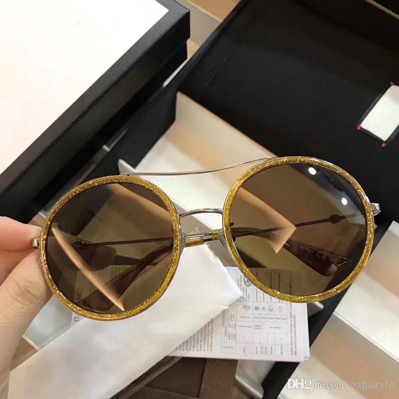 71252a35a5 Compre Gucci GG0061 YOOSKE Pequeño Clip Redondo En La Nariz Gafas De Sol  Hombres Vintage Mini Gafas De Sol Redondas Hacker Empire Matrix Morfeo Sin  Montura ...
