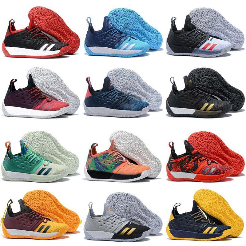 b73af4e145cd 2019 New Harden Vol. 2 MVP Men Casual Shoes Fashion Multi Color High ...
