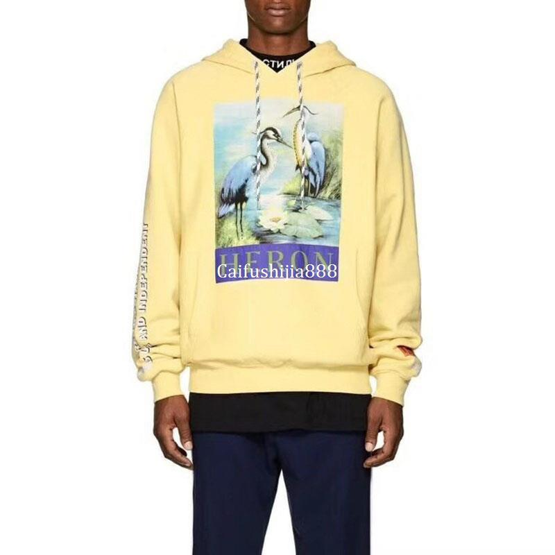 600399fe Fashion Heron Preston Hoodies Men Women 1:1 CTNNB Embroidery Heron Preston  Pullover Red-crowned Crane Heron Preston Sweatshirts Online with  $47.91/Piece on ...