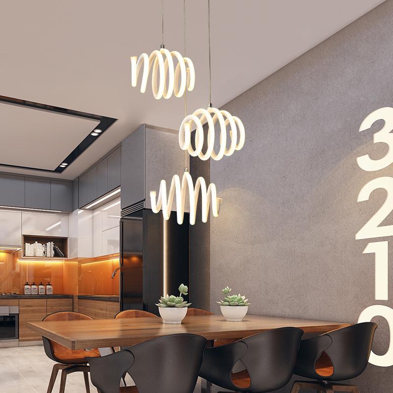 Grosshandel Grosshandel Moderne Pendelleuchten Led Aluminium Decoratie