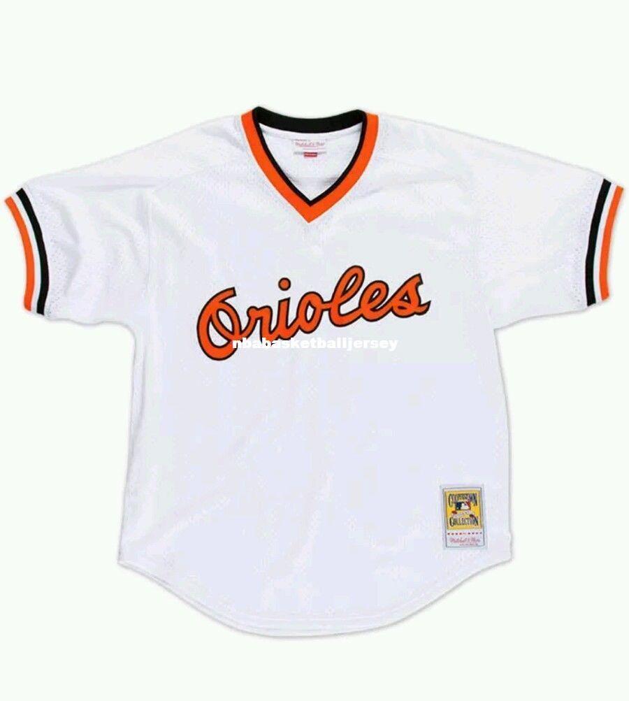 cc070a615 ... promo code for 2018 cheap new mitchell ness baltimore 8 cal ripken  batting practice mesh jersey