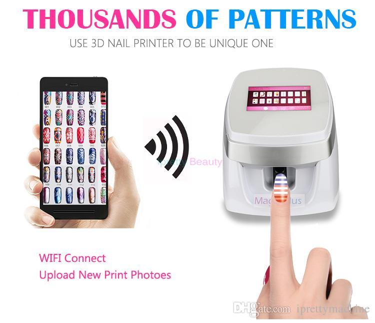 Nail Art Machine Printer: Nails Digital Mobile Nail Art Printer W003 Portable Nail