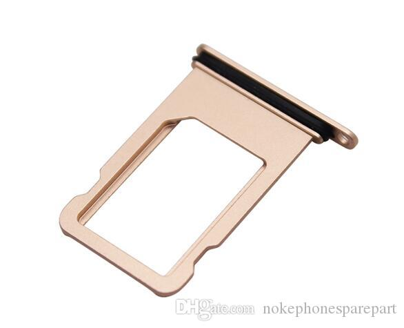 For iPhone 8 SIM Card Tray Slot Holder Adapter Replacement Parts Repair Spare Part Quality Cheap Phones Accessories