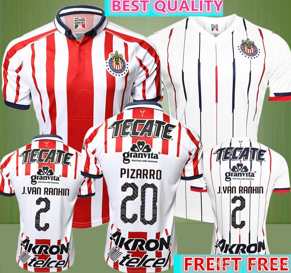 2019 2017 2018 Mexico Club Chivas De Guadalajara Soccer Jersey Home Away 17  18 19 Chivas Football Shirts Size Can Be Mixed Batch From Outletsmeteor 127c9a382