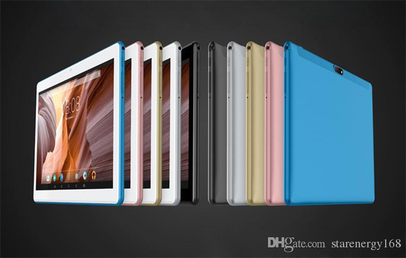 168 de haute qualité 10 pouces MTK6580 2.5D IPS glasss écran tactile capacitif dual sim tablette 3G GPS pc 10