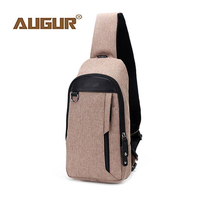 5532c0f54c AUGUR Chest Sling Bag For Women Men Fashion Brand Designer Crossbody Samll  Bags For Men Travel Shoulder Bag 2018 Chest Pack Cheap Designer Handbags  Black ...