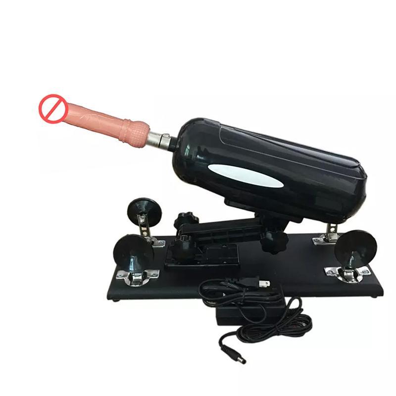 3 kolory Maszyna do seksu dla kobiet Automatyczny pistolet maszynowy z wibratora Dildo Intercourse Masturbacja Masturbacja Seks Zabawki