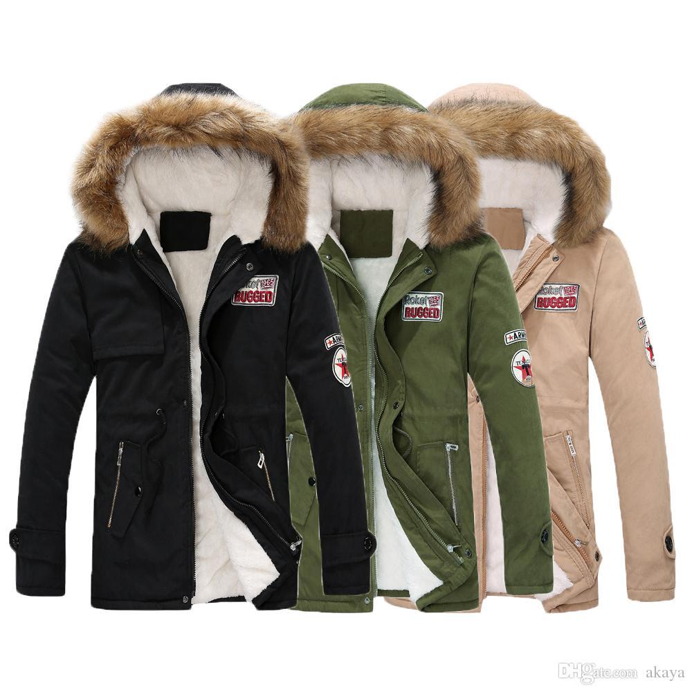 Veste Homme Size Men D'hiver Acheter Plus Coat Park awzvwWSq