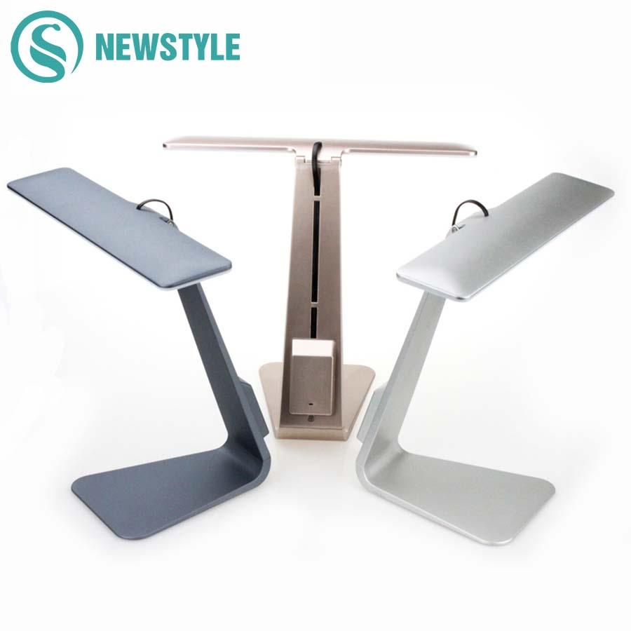 Lights & Lighting New Table Led Lamp Ultra-thin Led Charging Desk Lamp Smart Touch Eyes Protective Folding Night Light Reading Lamp For Bedroom