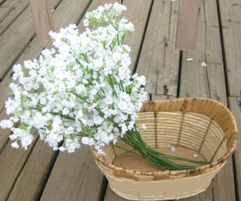 Yapay ipek çiçek Bitki Ev Düğün Dekorasyon dekoratif çiçekler gelin buketi dekorasyon düğün çiçekleri Ücretsiz kargo DHL