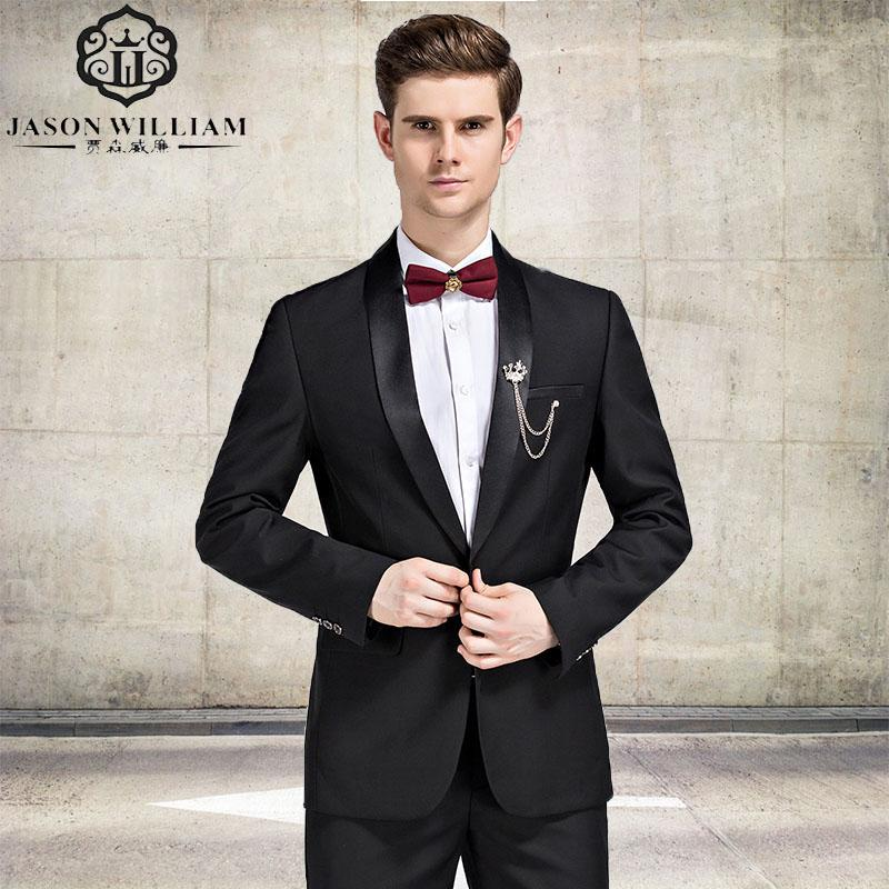 2019 Ln026 Black Suit Latest Coat Pant Designs Suit Men New Arrival