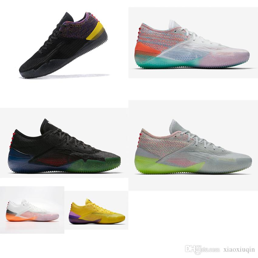 89b25707da89 2019 Cheap Mens Kobe Ad Nxt 360 Basketball Shoes Black Yellow Mamba Day  White New Colors Kb 12 XII Elite Low Generations Sneakers Tennis With Box  From ...