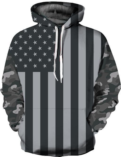 449194c5092 2019 New Fashion American Flag Clothing Men Women Hoodies Streetwear ...