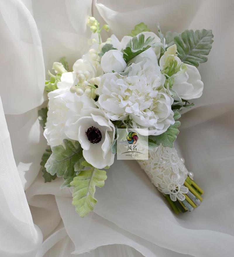 Grosshandel Neue Hochzeits Blumenstrauss Hochzeits Blumen