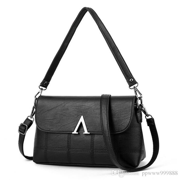 27cd72d6d72e3 2018 NEW Fashion Womens Design Chain Detail Cross Body Bag Ladies Shoulder  Bag Clutch Bag Bolsa Franja Luxury Evening Bags Leather Tote Leather Tote  Bags .