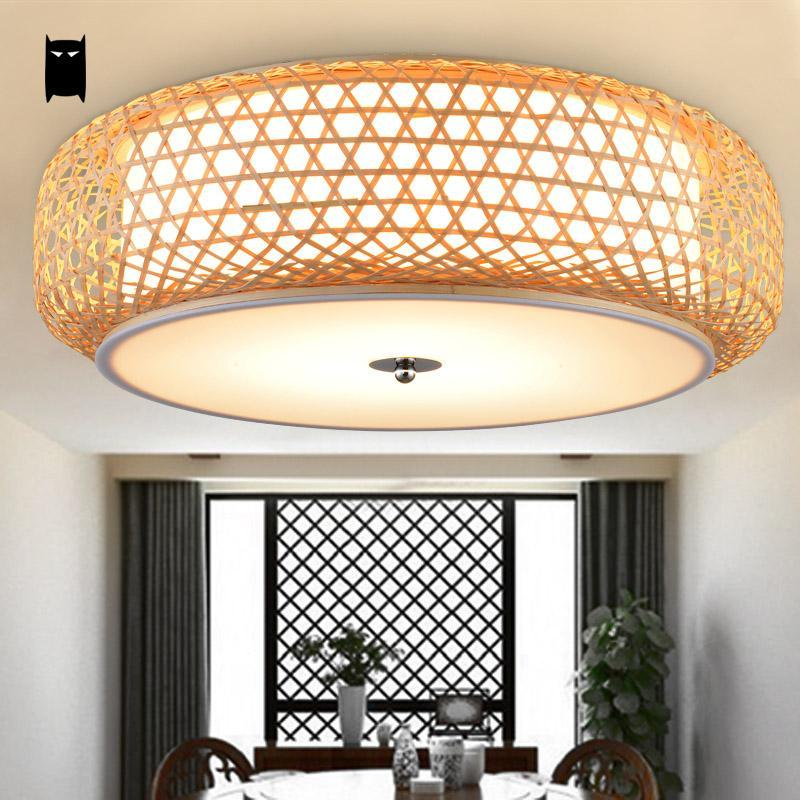 2018 bamboo wicker rattan lantern shade ceiling light fixture 2018 bamboo wicker rattan lantern shade ceiling light fixture rustic country asian japanese tatami plafon fitting bedroom living room from fried mozeypictures Gallery