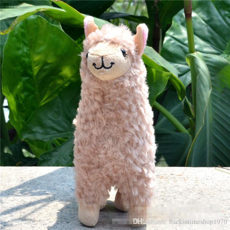 Kawaii Alpaca Peluches 23 cm Arpakasso Llama Stuffed Animal Dolls Japonés Juguete de Peluche Niños Niños Cumpleaños Regalo de Navidad