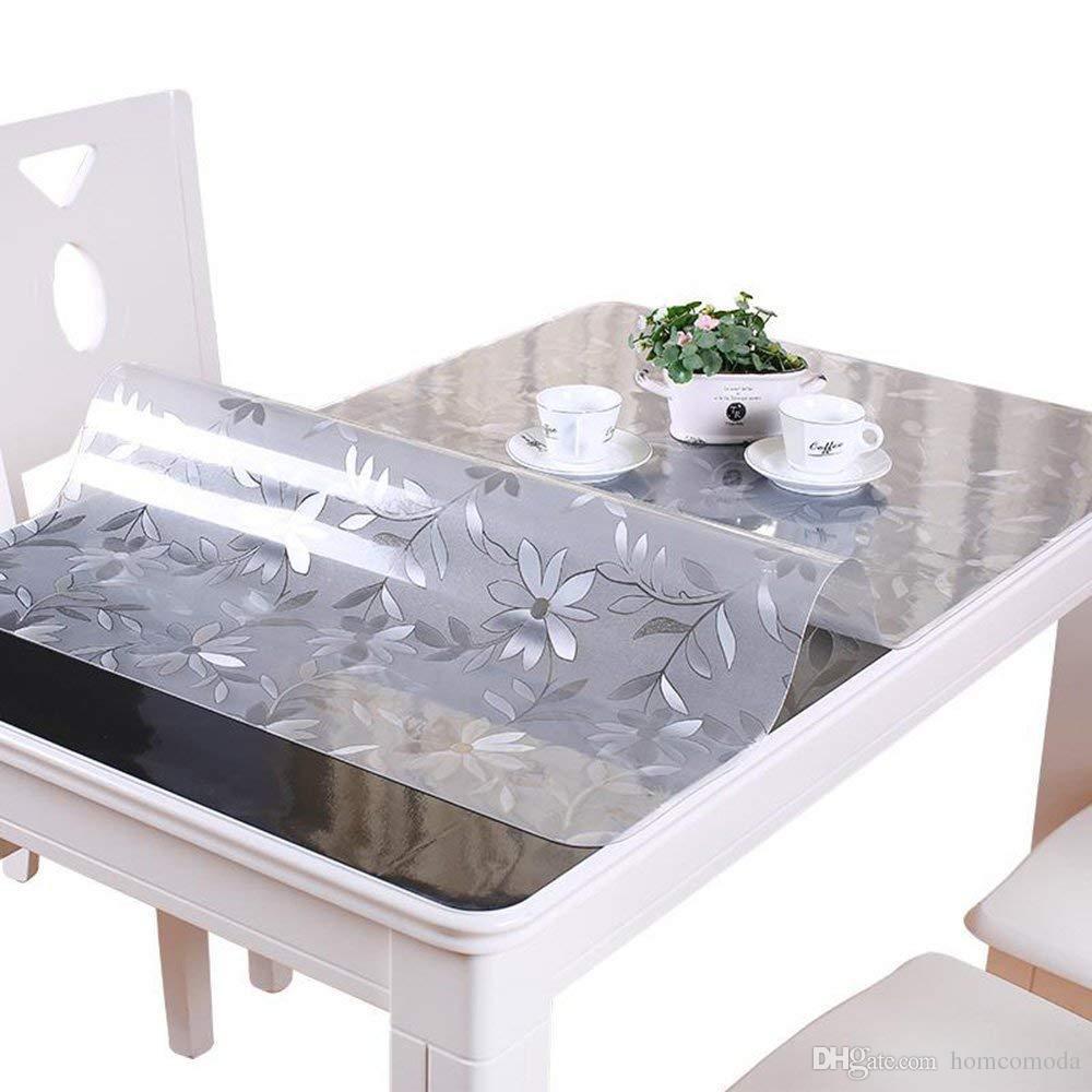 Homcomoda 1 5mm Clear Table Cover Protector Pvc Desk Pad