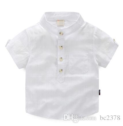 264a3234cae3 White Pullover Checkered Shirts Vertical Striped Design Handsome Look Baby  Boy Shirt Mix 5 Different Size Funny Kids T Shirts Tshirts For Boys From  Bc2378, ...