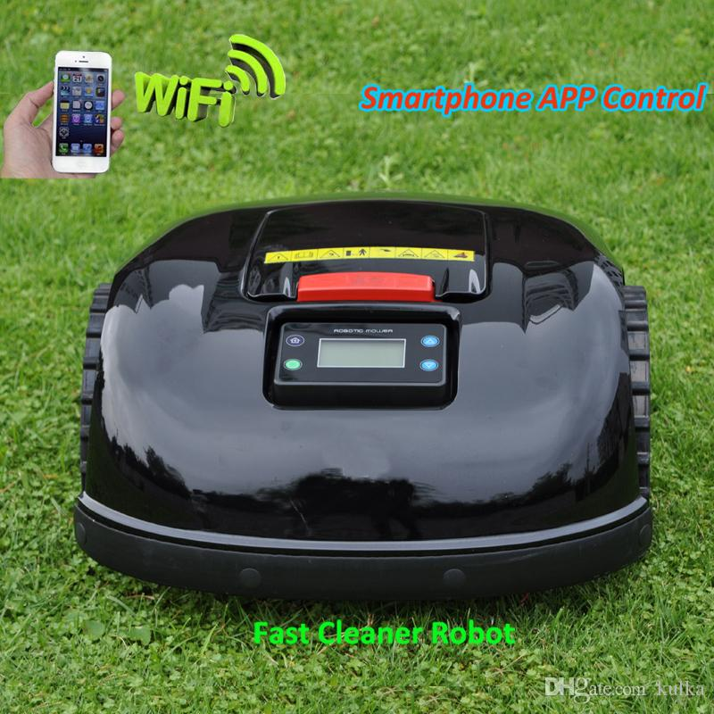 For 3600m2 Garden Mower,Robotic Lawn Mower E1600T with 400m Virtual ...