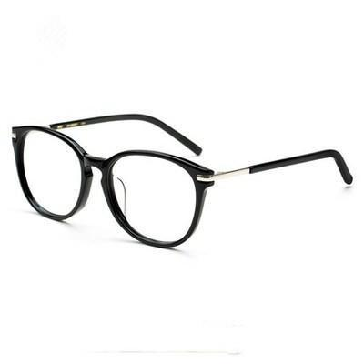 2018 Star Models Retro Myopia Glasses Frame Female Models Large ...