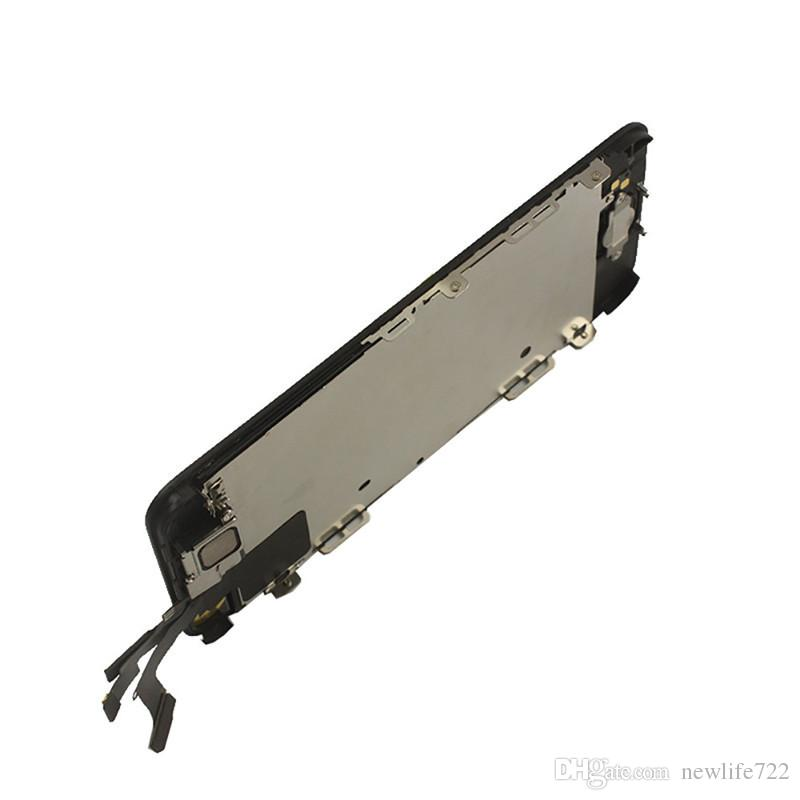 Black LCD Display Touch Screen With Digitizer Home Button Front Camera Replacement Part Assembly For Iphone 5C