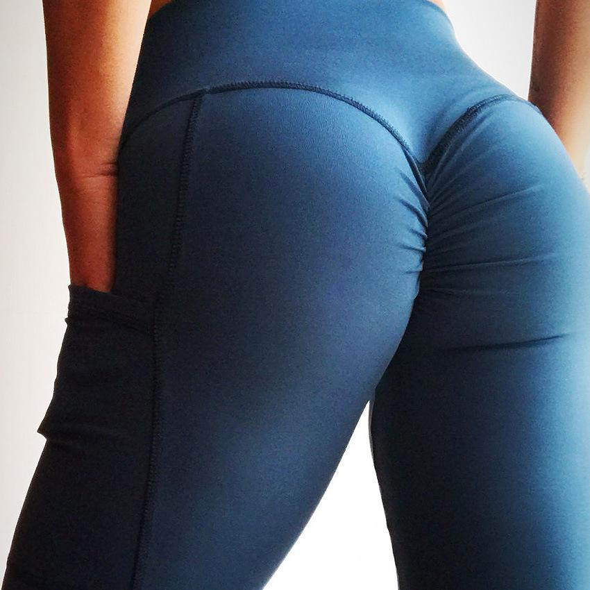 Clothes, Shoes & Accessories Activewear 2 pairs of BRAND NEW Ladies High Waist Butt Scrunch Push Up Leggings Size Medium