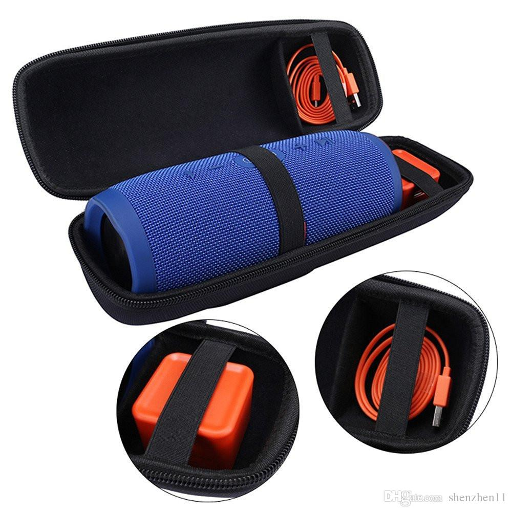 EVA Taşıma Saklama Çantası Kılıfı Çanta Kapak Taşınabilir Fermuar Taşıma Kutusu Tutucu III Bluetooth Kablosuz Hoparlör SCA411