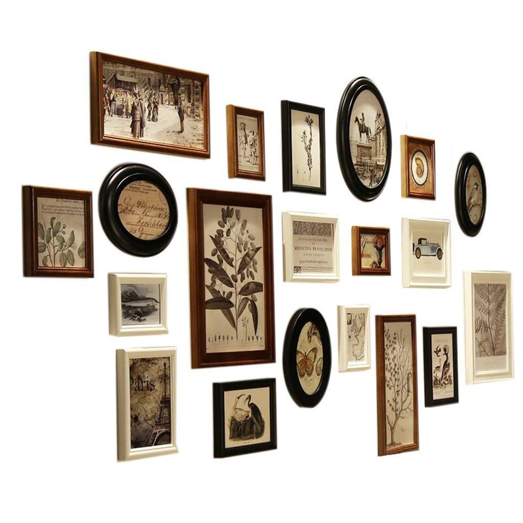 Großhandel 20 Fotorahmen Wand Galerie Kit Beinhaltet: Rahmen ...
