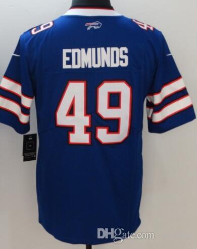 Buffalo Josh Allen Bills Jersey Tre Davious White Tremaine Edmunds ... cc50fcb48