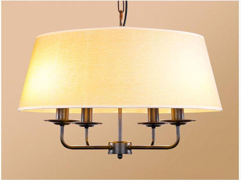 Plafoniere Tessuto Design : Acquista lampada a sospensione tamburo in tessuto plafoniera