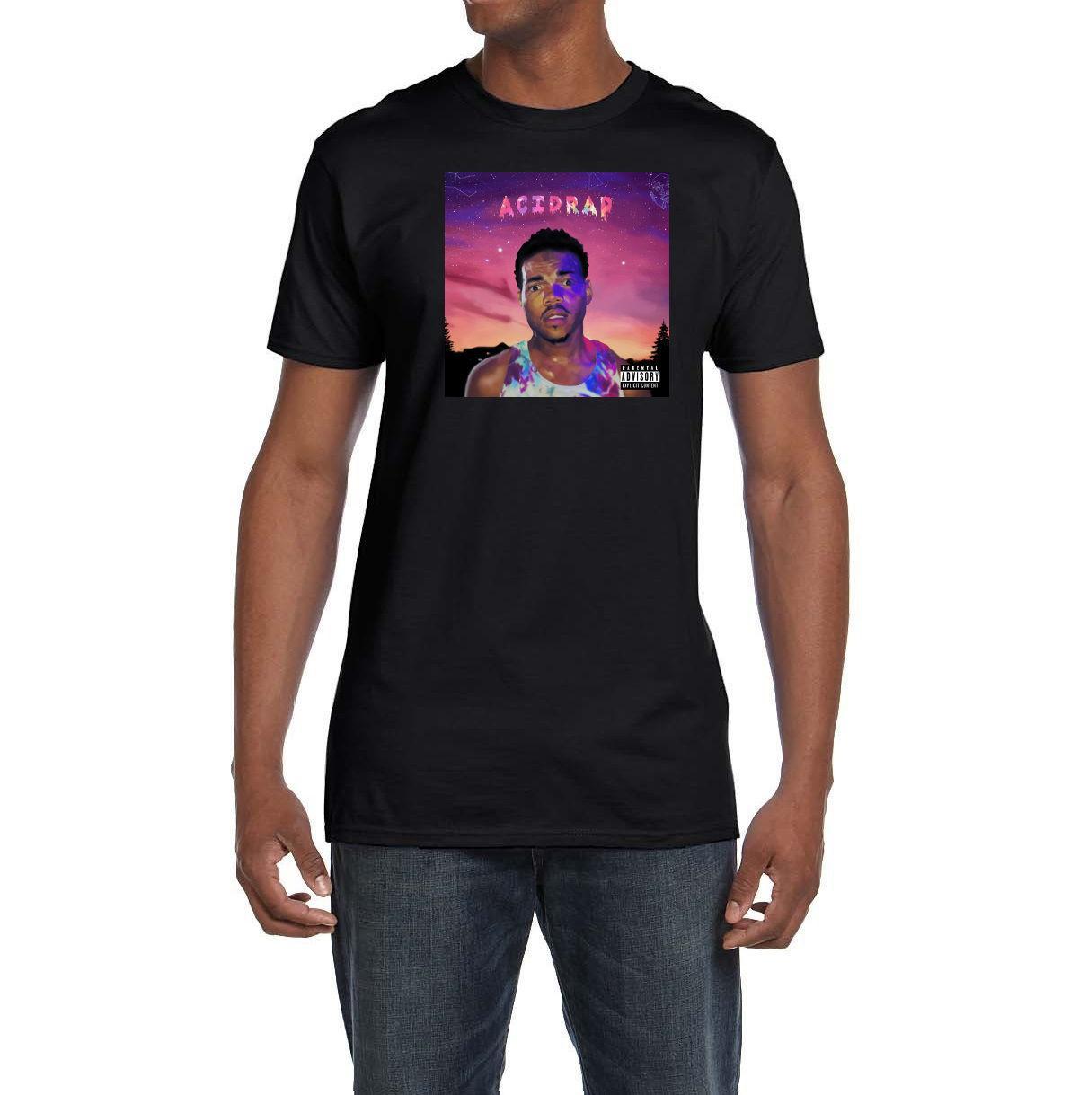 Chance The Rapper Acid Rap Album Cover T Shirt Hip Hop Acid Rap