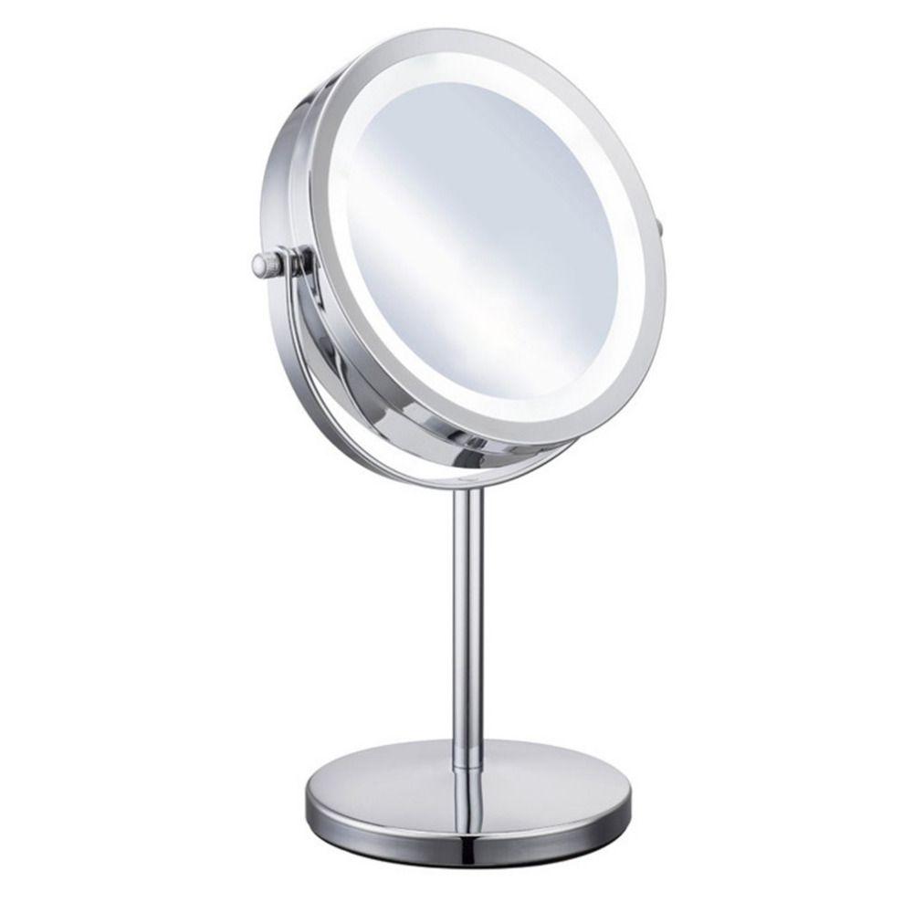 Compre 5x Magnificacion Maquillaje Facial Espejo Cosmetico Redondo