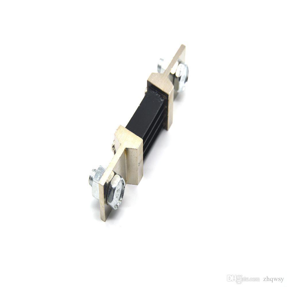 400A75MVDC shunt Ampere Parallel Resistor Amp Panel Meter Ammeter Shunt Current Tester Digital Ampere Panel Meter Current Shunt Resistor