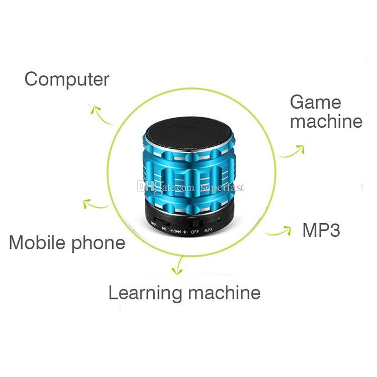 Altoparlante portatile senza fili Bluetooth S28 con Mini altoparlante vivavoce microfono incorporato con scatola al minuto