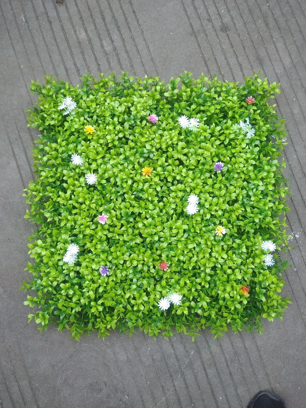 2018 20x20inch artificial boxwood hedges panels decorative garden