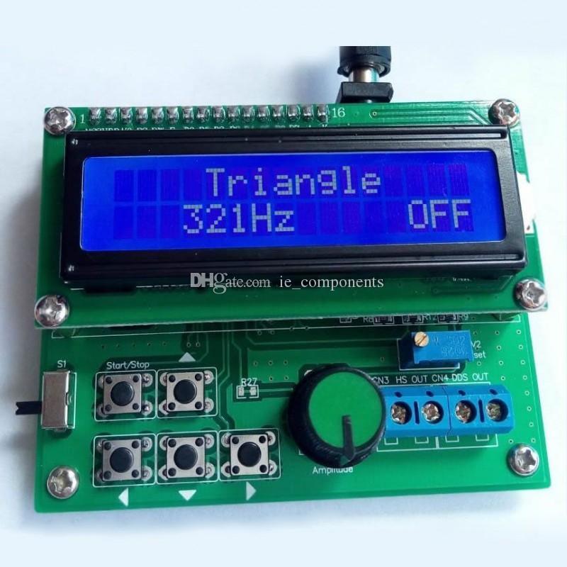DDS Signal Generator Module NE555 DDS Function Generator Kit 8mhz dds  function signal generator with LCD display high precision