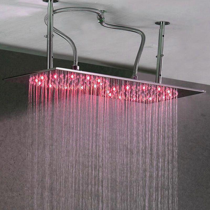 Fashion Design LED Bath Faucet Sprinker Polish Surface Finish German ...