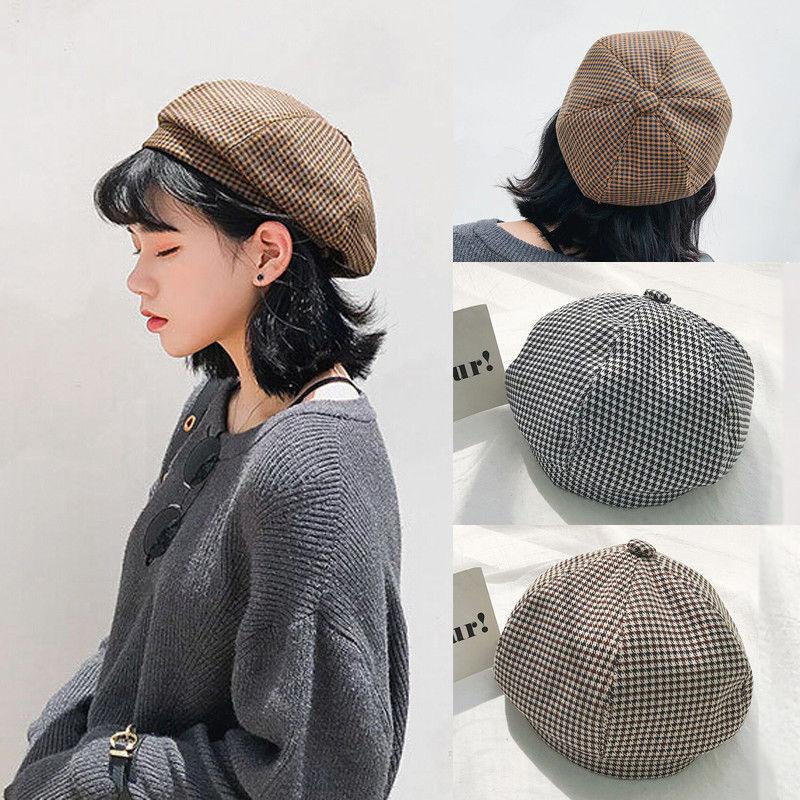 edc4bd6f29590 2019 New Classic Fashion Soft Women Warm Beret Beanie Hat Cap French Style  Gift Vintage Casual Bud Cap From Qiufenshi