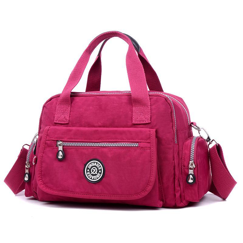Ladies Fashion Bags 2018 Nylon Cloth High Quality Women Shoulder Bag Light  Handbags Messenger Bag Waterproof Women S Tote Bags D18102906 Black Handbags  ... 9f4ba246169a4