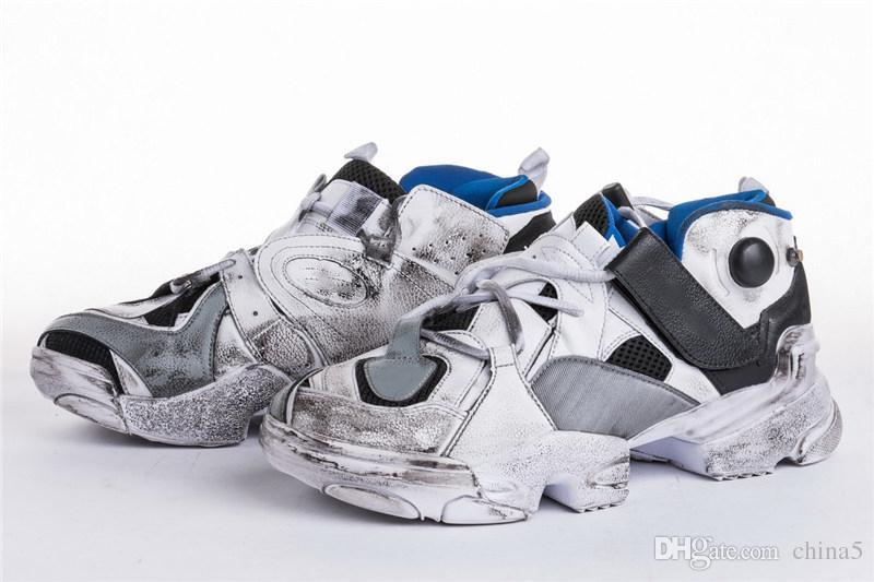 336df4f7a95878 2019 2018 Limited VETEMENTS X 2018REBOOK Genetically Modified Pump White  Running Shoes For Men With Original Box CN0408 36 45 Best From China5