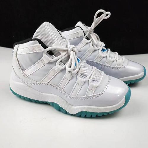 11 Space Jam Kids Sport Basketball Shoes GS Heiress Suede Maroon 11s Sneakers Blue Moon Sunset Size 28-35