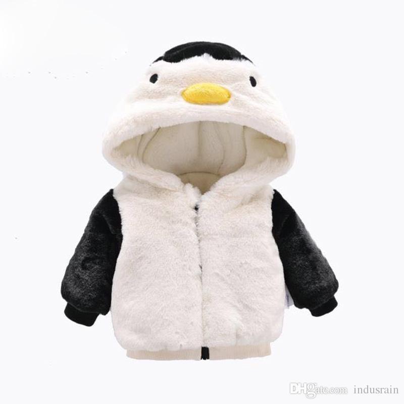 Abrigo Pingüino Otoño Lindo Invierno M 6 Bebé Chaqueta Cálido Compre nYTfRqX
