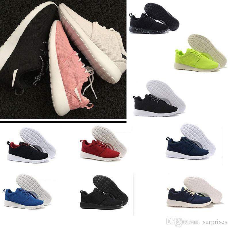 60395612c3b6 Wholesale 2018 runn shoes London Olympic Sneaker All Black White Ink  Running Shoes Men Women Sports London Olympic Womens Mens Trainers shoe