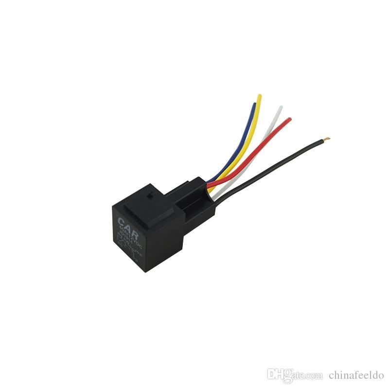 2019 Leewa 12v 40a Car Auto 5 Wire Terminal Relay Socket Harness Rhdhgate: 5 Wire Wiring Harness At Gmaili.net