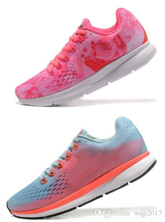 new styles 5ee18 2cb50 2018 New Air Zoom Pegasus 34 Sneakers Women Breathable Mesh Racer Pegasus34  Casual Shoes Size Euro36 39 Running Shoes Shoes Online From Wqp2017, ...